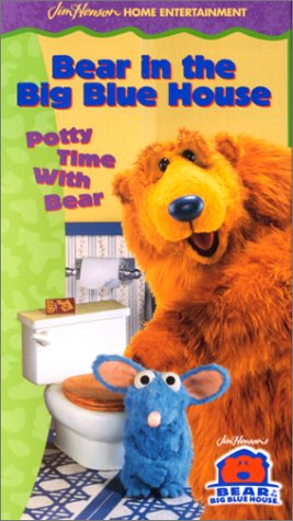 Bear in the Big Blue House - Potty Time with Bear [VHS]