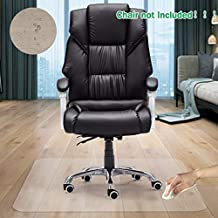 GeeWin Home Office Chair Mat for Hardwood Floor, 30'' x 48'' Clear Floor Mat for Rolling Chairs, Floor Protector Thick Durable Chair Mat Chairmats (30