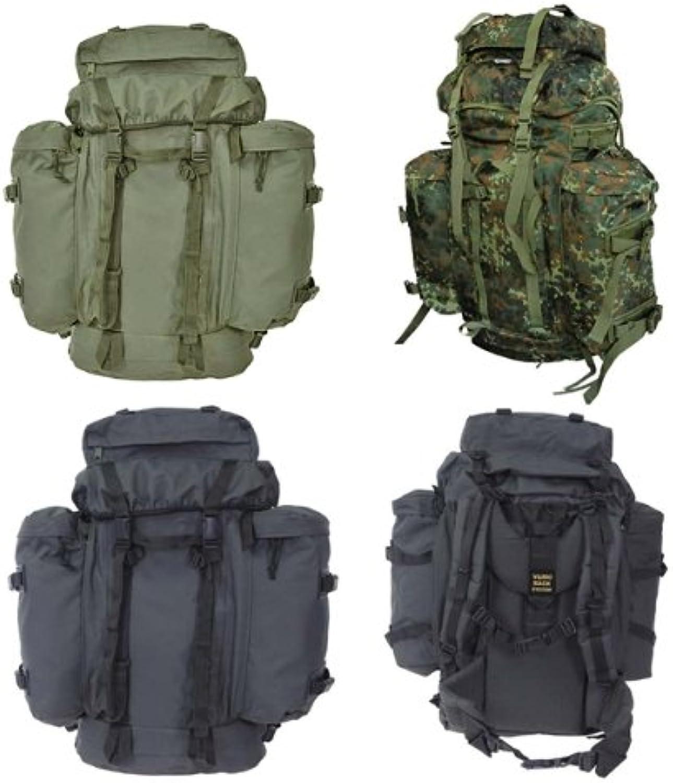BW Rucksack Mountain 80 Liter mit abnehmbaren Daypacks in Oliv Schwarz oder Flecktarn Schwarz
