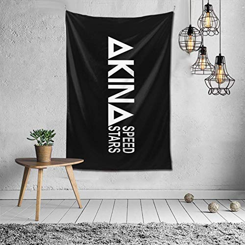 Yuanmeiju Tapiz Decorativo Akina Speed Stars Tapestry Wall Hanging with Art Nature Home Decorations for Living Room Bedroom