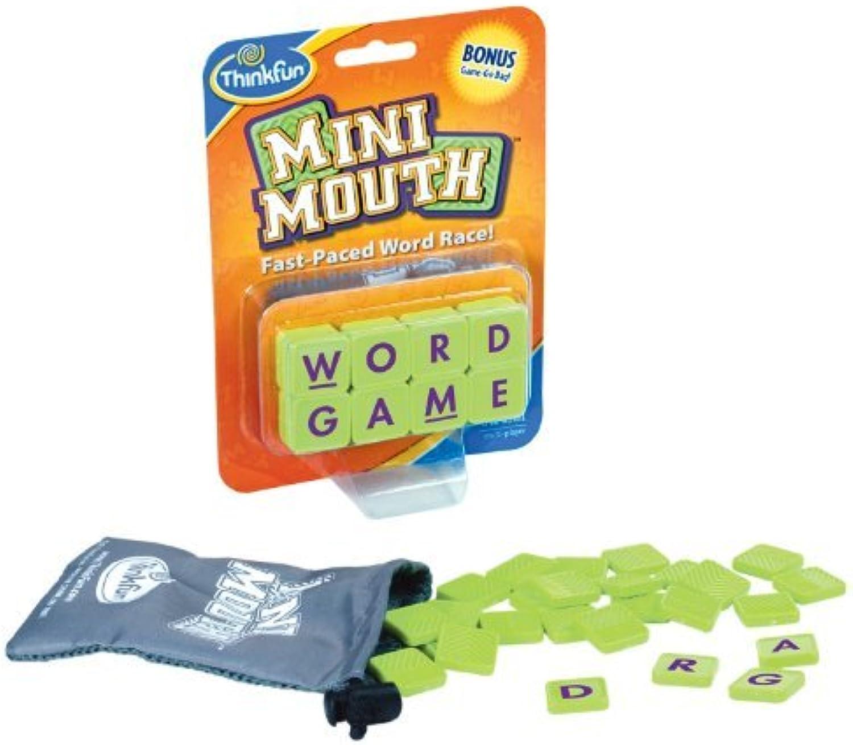 Thinkfun Mini Mouth Word Game by Think Fun