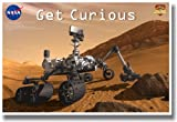 Get Curious Mars Curiosity - Classroom Science Poster