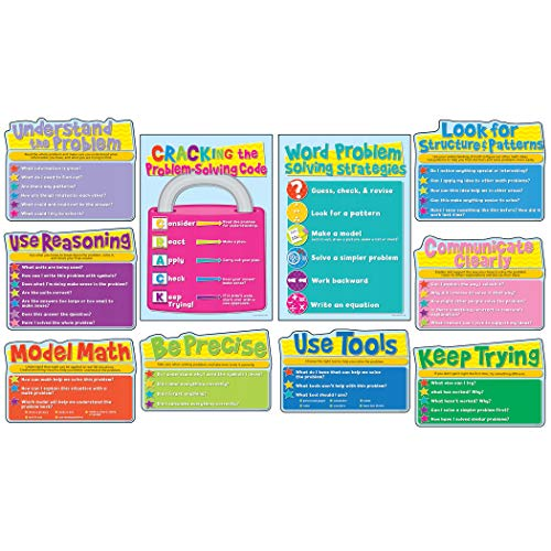 Carson-Dellosa Common Core Math Strategies Bulletin Board Set