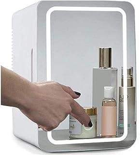Mini kühlschrank farsky 8L kleiner Kühlschrank mit LED-Spiegel Ein kleiner kosmetischer Kühlschrank für das Schlafzimmer, sehr gut geeignet für Haut und Kosmetik