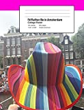 I'd Rather Be In Amsterdam: Amsterdam Canal Parade Themed College Ruled Composition Notebook, Medium Ruled Paper, 200 Pages, 100 Sheets, 7.44' x ... Books) [Idioma Inglés] (Elsewhere Notebooks)
