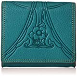 [キャサリンハムネット ロンドン] 財布 二つ折り BOX小銭入れ アーク KHP542 グリーン