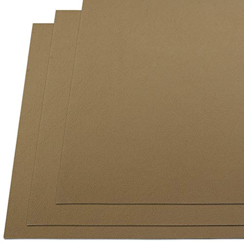 """KYDEX Thermoform Sheet - (P1 Texture) - (.080"""" Gauge) - (12in x 12in Sheet) - (Flat Dark Earth Spring) - (3 Pack) - (for Holster Making & Hobby)"""