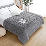 Ucomn Cozy Faux Fur Weighted Blanket, Comfort...
