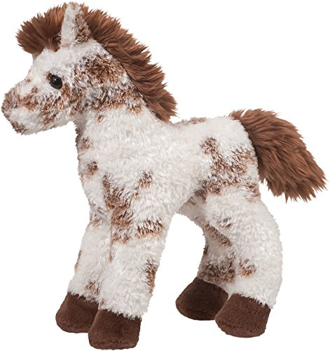 Cudddle Toys 1760 Stoney BROWN & WHITE APPALOOSA paard bruin/wit knuffeldier pluche speelgoed