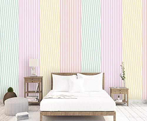 Fototapete 3D 430cmx310cm Vlies Tapete Design Tapete Moderne Wanddeko Wand Dekoration Wandtapete Moderne Minimalistische Farbstreifen