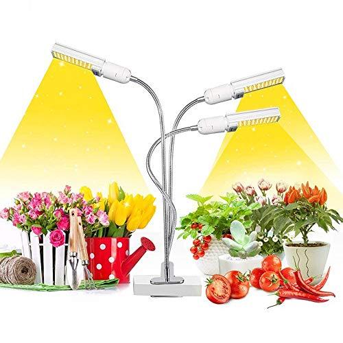 QSCZZ Full Spectrum Pflanzenwachstum Licht, 80W automatische EIN/Aus Pflanzenwachstum Licht, 06.03 / 12H Timing-Funktion, für Indoor Sämlingwachstum