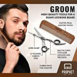 Beard Kit for Men Grooming And Care | 6 Pieces | Personal Barber in Your Bathroom | Organic Ingredients to Grow Thicker… 4