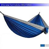 NoBrand Ultra-Large Hamac Parachute Léger Camping Survie Jardin Chasse Loisirs Hamac Voyage Double Personne Hamak Ramac