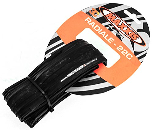 Maxxis Radiale 28 Road Bike Tyre 22-622, 3C, Road, faltbar black by Maxxis