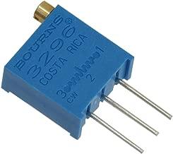 Spectrol 3296W-1-100/64W/364W Cermet Trimmer Potentiometer, 10 Ohm, 25 Turn, 9.53 mm L x 11.55 mm H x 4.83 mm W (Pack of 10)