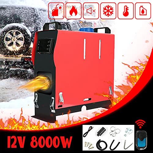 Triclicks Calentador diesel de aire de 12 V, 8 kW, con interruptor LCD, control remoto, tanque para camiones, barcos, remolques, autocaravanas, caravanas (estilo 2)