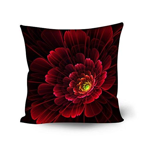 Coloranimal Set di 4Stile Floreale Cuscini per divani e poltrone Salotto 45,7x 45,7cm, Floral-3, 18inchx18inch