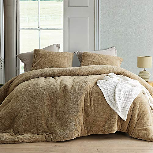 Byourbed Coma Inducer Oversized Queen Comforter - Teddy Bear - Taupe Natural