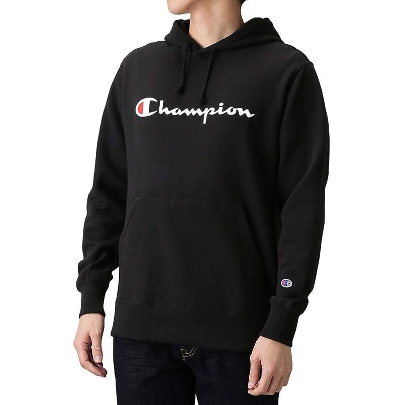 大佐沼地シャーロットブロンテChampion(チャンピオン) プルオーバーパーカー プルオーバー パーカー 長袖 C3-J117 メンズ ブラック:S