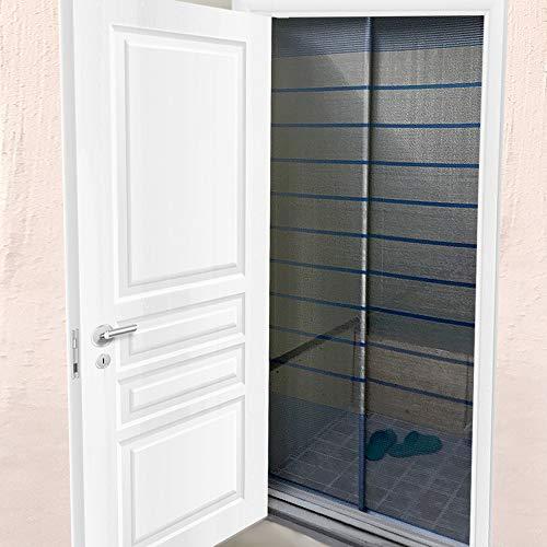 Custom Cut to Size,[ Grey,Embedded, W 32 xH 83 (inch)], Aluminum Retractable Front Screen Door net,Fiberglass mesh with alumium, Mosquito Screens I Bug Net for Doors