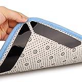 Antirutschmatte Teppic, 30 Stück Teppichgreifer Antirutschmatte Wiederverwendbare Waschbar Büro...