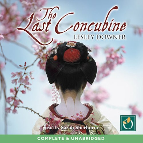 The Last Concubine audiobook cover art