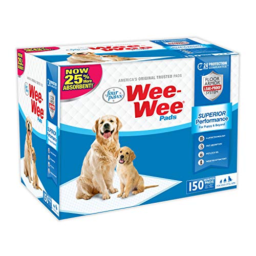 Wee-Wee Puppy Training Pee Pads 150-Count 22