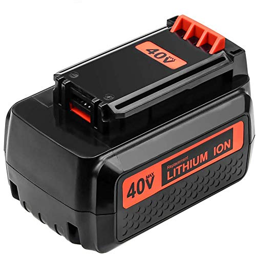 Replacement for Black and Decker 40V 3.0Ah Max Lithium Upgraded Battery LBX2040 TC220 LHT2436 LSW36 LBXR36 LBXR2036 LST540 LCS1240 LBX1540 LST136W Cordless Tools Amsbat