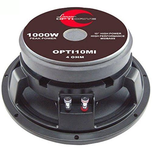 LANZAR OPTI10MI Opti 10MI mittlere niedrige Mitte mid bass tiefton Lautsprecher 25,00 cm 10