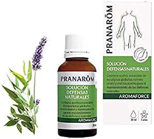 PRANARÔM - Aromaforce - Solución Defensas Naturales, Eucalipto, 30 Mililitros