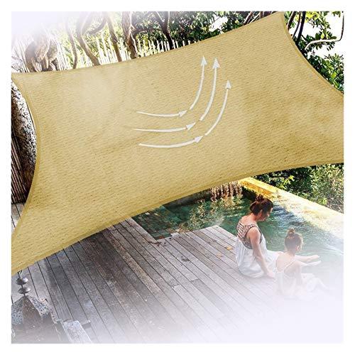 Velas de Sombra para Pérgola, Patio, Jardín, Patio, Patio Marquesina para Toldo Protector Solar 95% De Bloqueo UV Velas De Sombra,Personalizable ALGFree (Color : Beige, Size : 3x4m)
