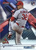 2018 Bowman's Best #41 Jack Flaherty RC Rookie Card St. Louis Cardinals Official MLB Baseball Trading Card in Raw (NM or Better) Condition. rookie card picture