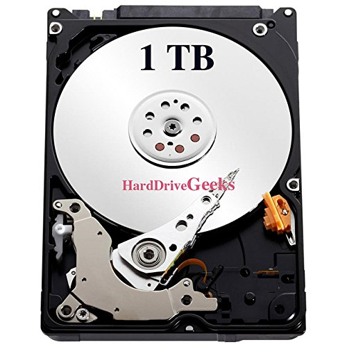 1TB 2.5' Laptop Hard Drive for Dell Inspiron 15, 15 (3520), 15 (3521), 15 (3531), 15 (3537), 15 (3551), 15 (3558), 15 (5542), 15 (5545), 15 (5547), 15 (5548), 15 (5551), 15 (7537)