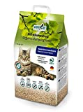 COSYCAT BIO, lettiera agglomerante per gatti, naturale in fibra di legno. Disponibile in confezioni da 20 l