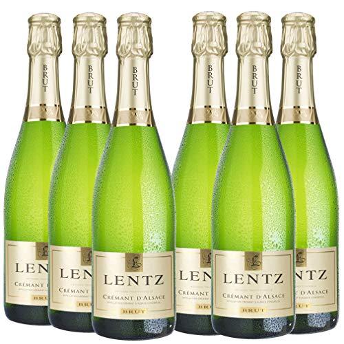 Cremant d'Alsace - Lentz brut (6x0,75l) - 71,90 Euro /1l=15,98€