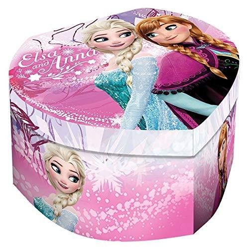 Disney Joyero Corazon con Espejo de Frozen