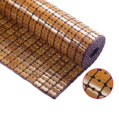 Best Deals! ZLH Bamboo mat mat Folding Double Single Bamboo mat Pure Natural Environmental Protectio...
