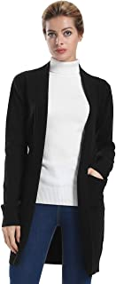 Ninovino Women's Cowl Neck Slit Side Cable Knit Pullover Long Sweater
