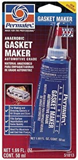 4 Pack Permatex 51813 Anaerobic Gasket Maker - 50 ml Tube (518)