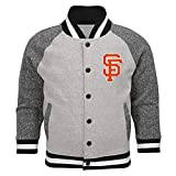 Outerstuff MLB Toddler Game Pride Primary Logo Bomber Jacket (3T, San Francisco Giants)