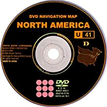 2008 2009 2010 Toyota Highlander 2017 Navigation East Map Update DVD U41 V.16.1.