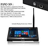 "PiPO X9s - Tablet PC con Windows 10, Schermo Full HD 8.9"", Intel Quad Core Z8350, RAM 4 GB DDR3, SSD 64 GB, HDMI, Wi-Fi, Ethernet, Bluetooth 4.0, USB 3.0"