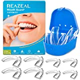 Mouth Guard for Grinding Teeth and Clenching Anti Grinding Teeth Custom Moldable Dental Night Guard Dental Night Guards to Prevent Bruxism - 8 Pack