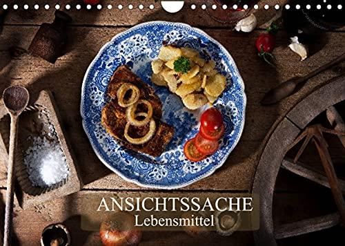 Ansichtssache Lebensmittel (Wandkalender 2022 DIN A4 quer)