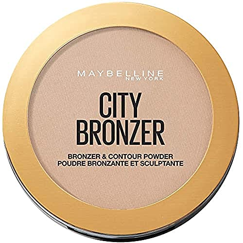 Maybelline Polvo Bronceador City Bronze, 250 Medium Warm, 8 g