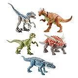 ジュラシック・ワールド リアルミニアクションフィギュア アソート 6体入り ブルー(2体) ポストスクス(1体) サウロペルタ(1体) チャーリー(1体) パキケファロサウルス(1体) アプリ連動 986F-GCR54