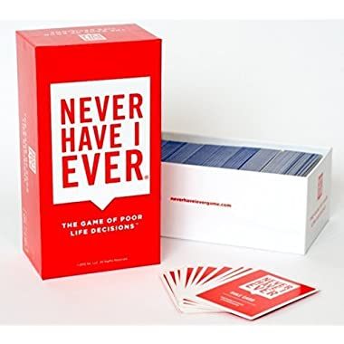 Never Have I Ever, The Game of Poor Life Decisions [A Party Card Game]