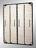 i-flair® Lattenrost 160x200 cm, Lattenrahmen für alle Matratzen geeignet - alle Größen - 5