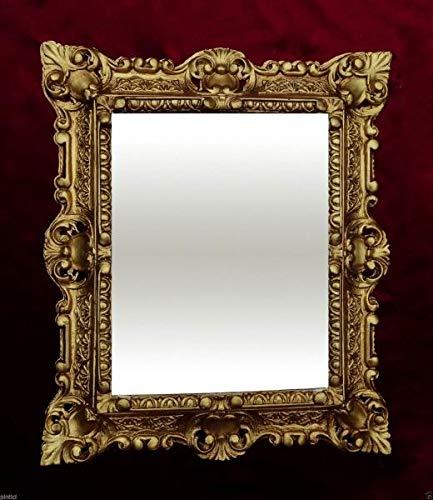 Barock Bilderrahmen Gold 45x38 Fotorahmen 30x24 Rechteckig Antik Rahmen 3047