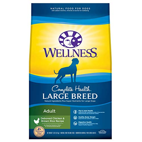 Wellness Large Breed Dog Food, Chicken & Rice